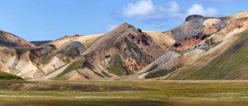 Landmannalaugar View, Islande images libres de droits
