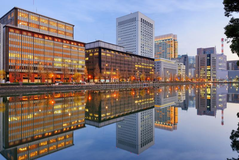 Marunouchi district of Tokyo royalty free stock images