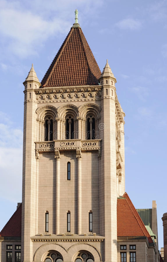 Download Landmark Center Tower stock photo. Image of capitals - 20321170