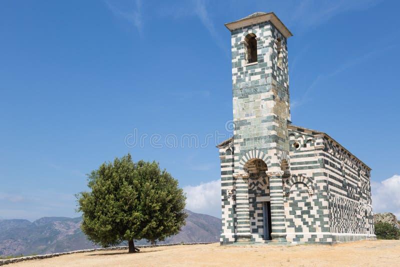 Church San Michele de Murato royalty free stock image