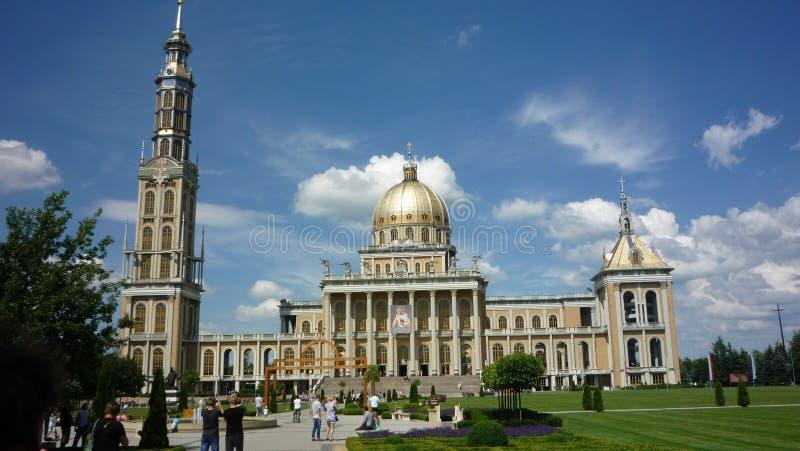 Landmark, Classical Architecture, Historic Site, Basilica stock photo