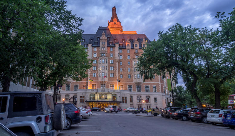 Landmark Delta Bessborough Hotel royalty free stock photo