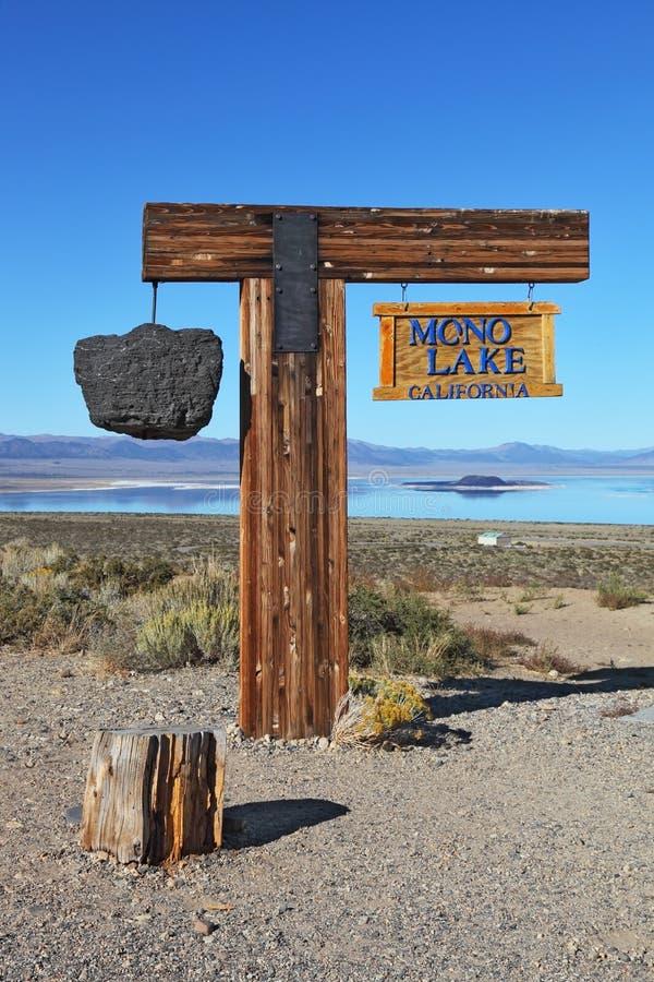 The Landmark Mono Lake Royalty Free Stock Photos