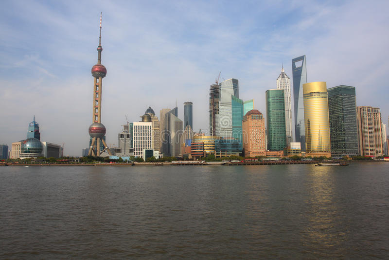 Download Landmark of shanghai stock image. Image of famous, chinese - 13996417