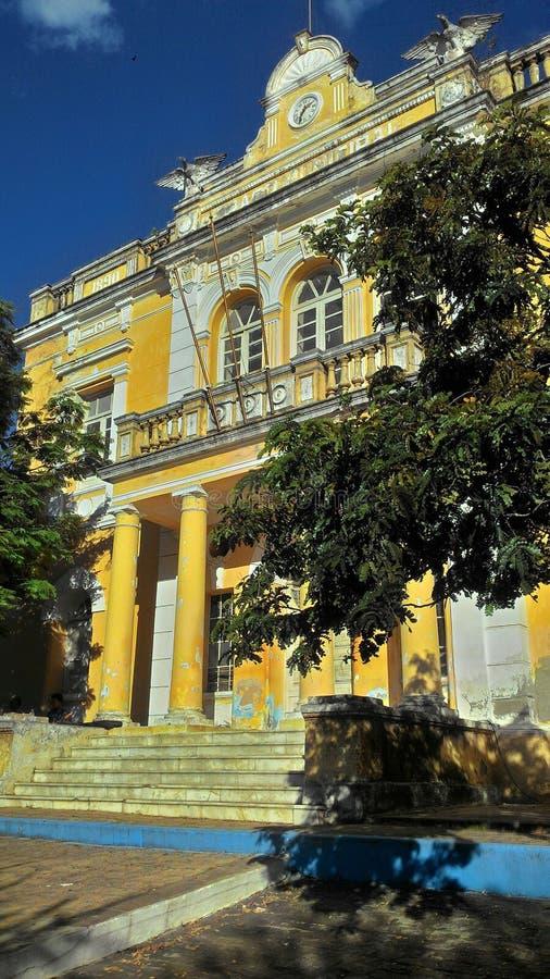 Landmark, Yellow, Sky, Building royalty free stock images