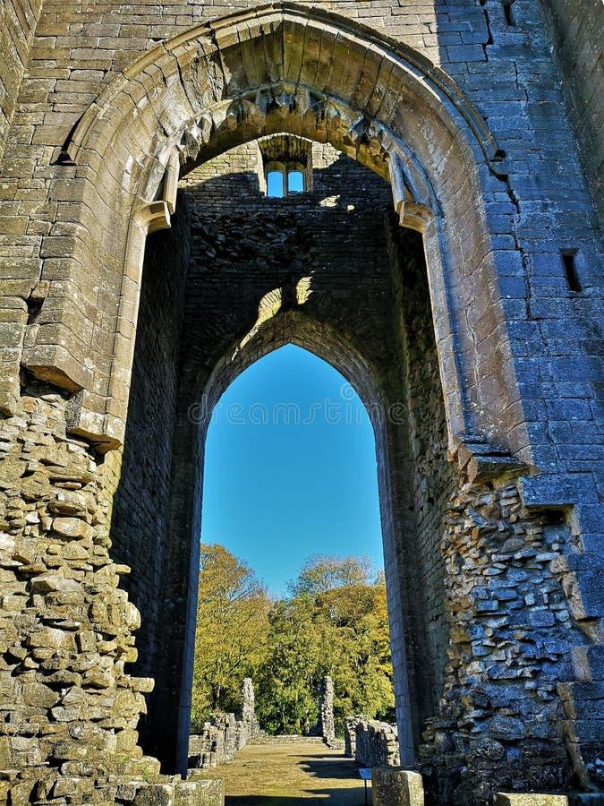 Free Landmarks Of Cumbria - Shap Abbey Stock Photo - 138749650