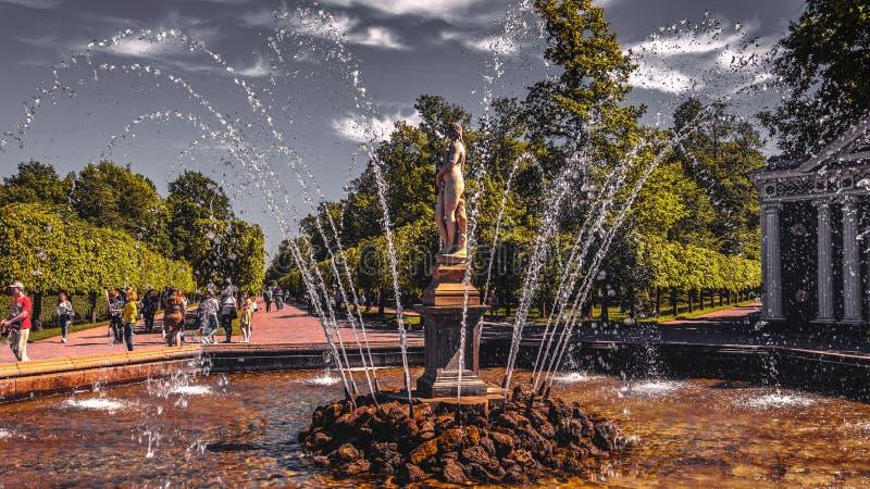 Landmarks Petergof, Russia royalty free stock image
