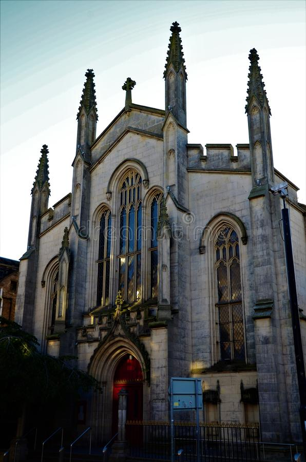 Landmarks of Scotland - Churches in Dundee stock image