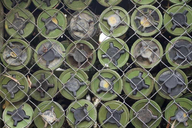 Landminen entfernt von Kambodscha stockfotos