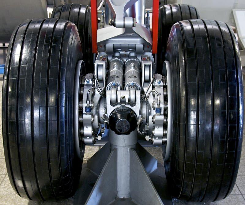 Landningkugghjul royaltyfri bild