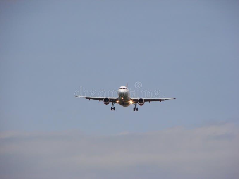 landningnivå royaltyfri fotografi