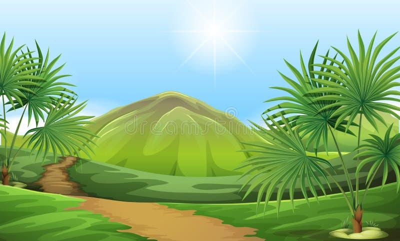 Landresurser vektor illustrationer