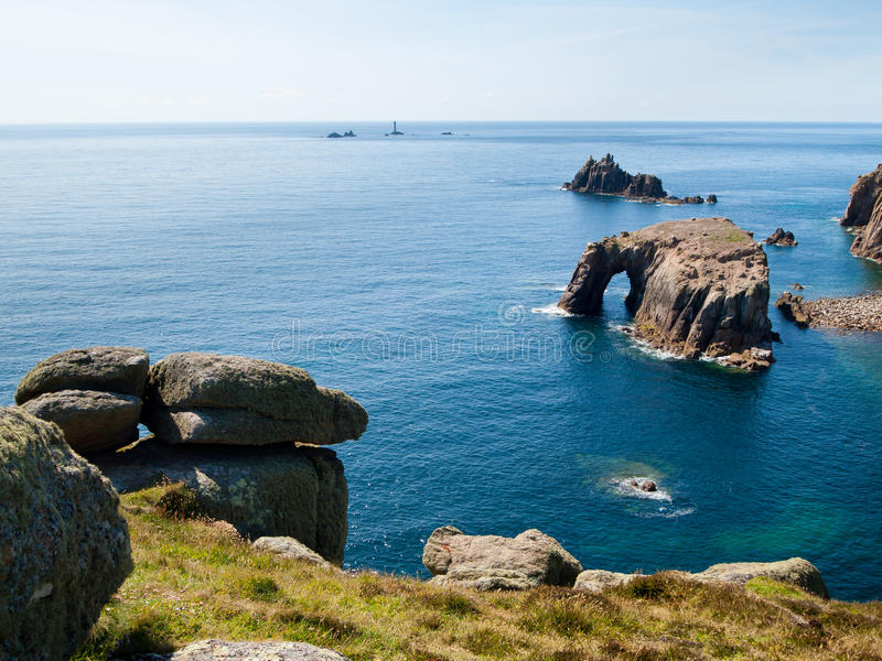 Download Lands End stock image. Image of rural, scenic, rock, rugged - 20836319