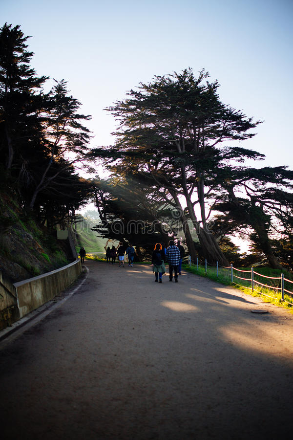 Lands End royalty free stock photos
