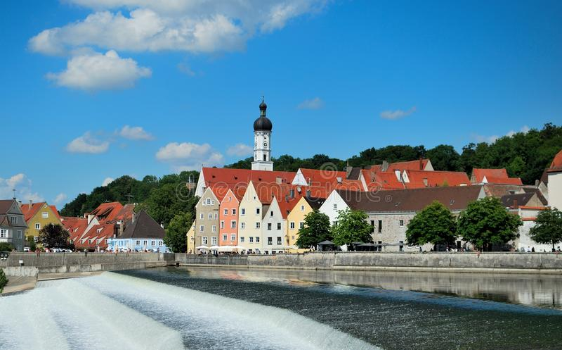 Landsberg am Lech lizenzfreie stockfotografie