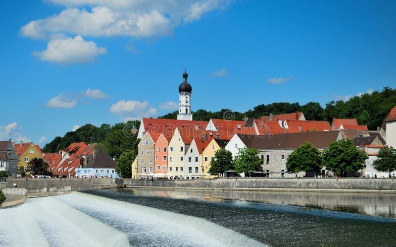 Landsberg am Lech royalty-vrije stock fotografie