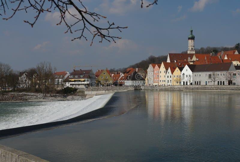 Landsberg Wehr stockbild