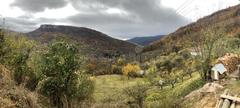 Landsbygdens landskap royaltyfri bild
