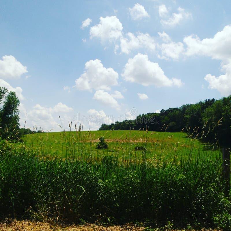 Landsbygdsboendet är livet arkivfoton