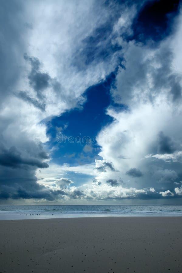 landscape Нормандия стоковое изображение rf
