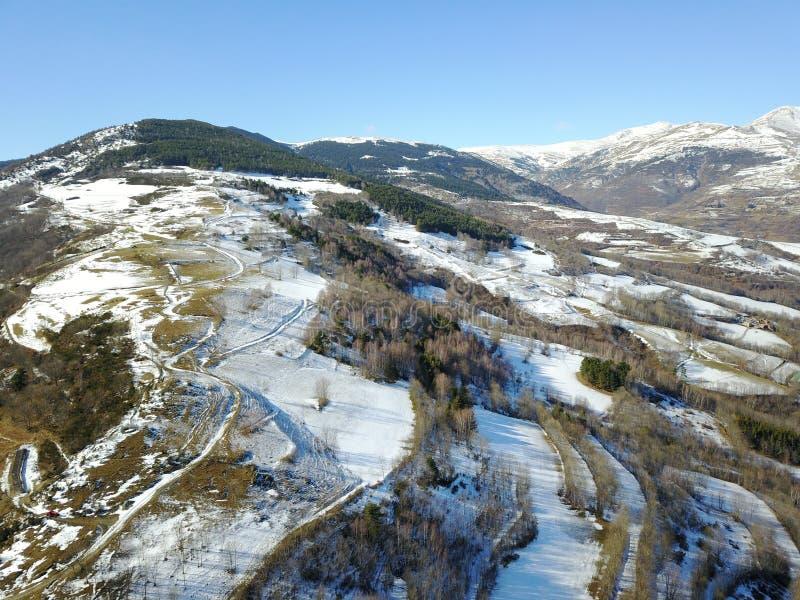 Landscape от воздуха стоковые изображения rf