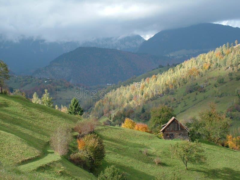landscape Румыния стоковое изображение rf