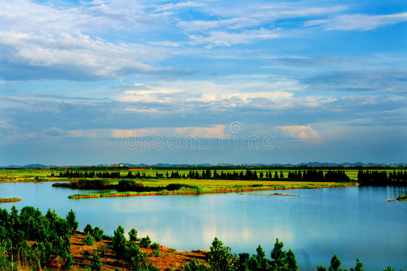 Landscape. The landscape is very wonderful royalty free stock photos