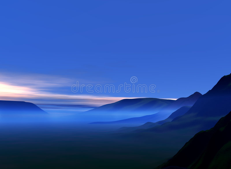 Landscape royalty free illustration