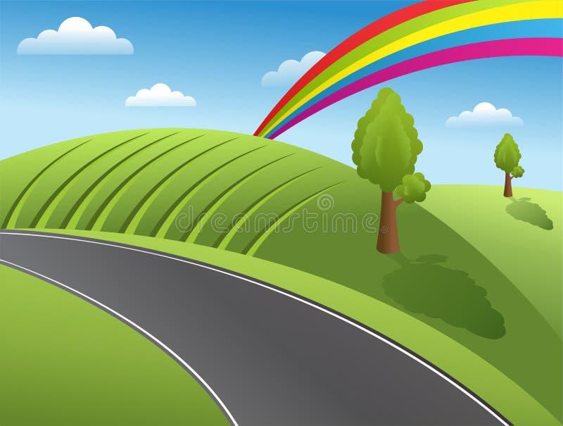 Download Landscape stock illustration. Illustration of cloud, illustration - 22731150