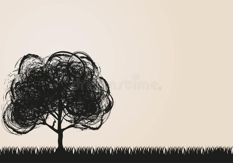 Download Landscape stock vector. Illustration of shape, branches - 25630432
