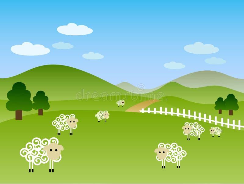 Download Landscape stock vector. Image of vector, illustration - 3342483