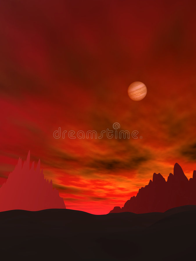 Landscape 63 stock image