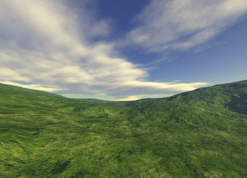 Download Landscape stock illustration. Image of green, horizontal - 658697