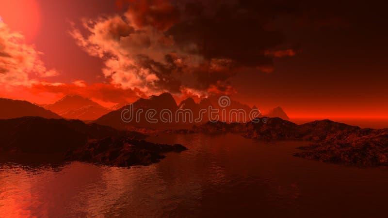 Download Landscape stock illustration. Image of summer, scape, pure - 7317205