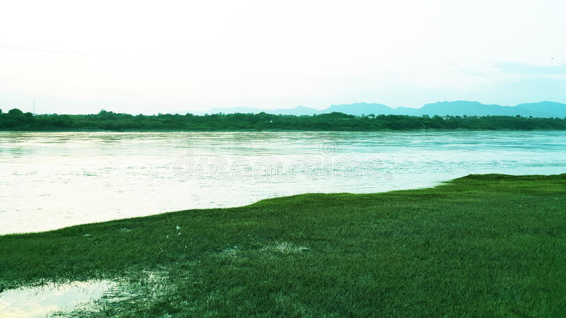 Landscape Abatabad stock photo