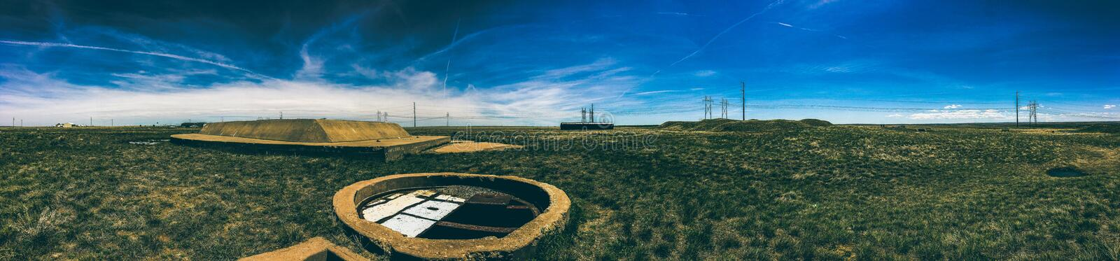 Landscape Aerial Photography stock photography