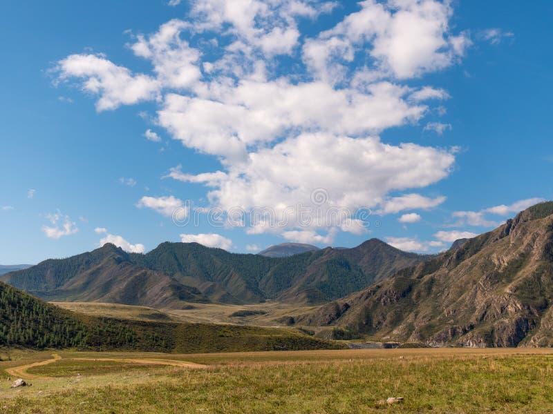 Landscape Altai mountains a Siberia, Russia stock photos