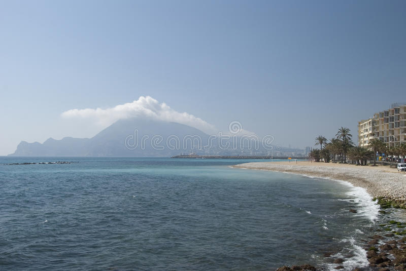 Download Landscape in Altea, Spain stock photo. Image of marine - 9836184