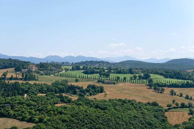 Landscape from Amelia (Umbria, Italy) royalty free stock photo