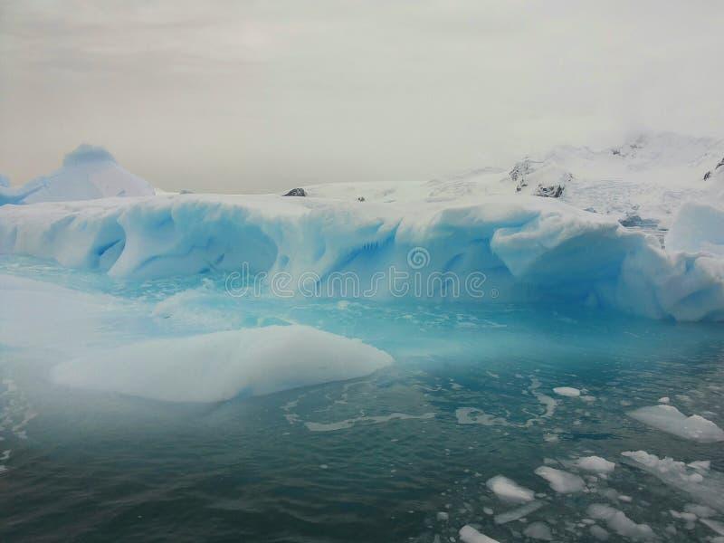 Landscape of Antarctica stock photo