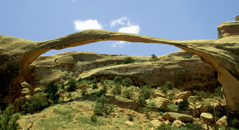 Download Landscape Arch Royalty Free Stock Image - Image: 180476