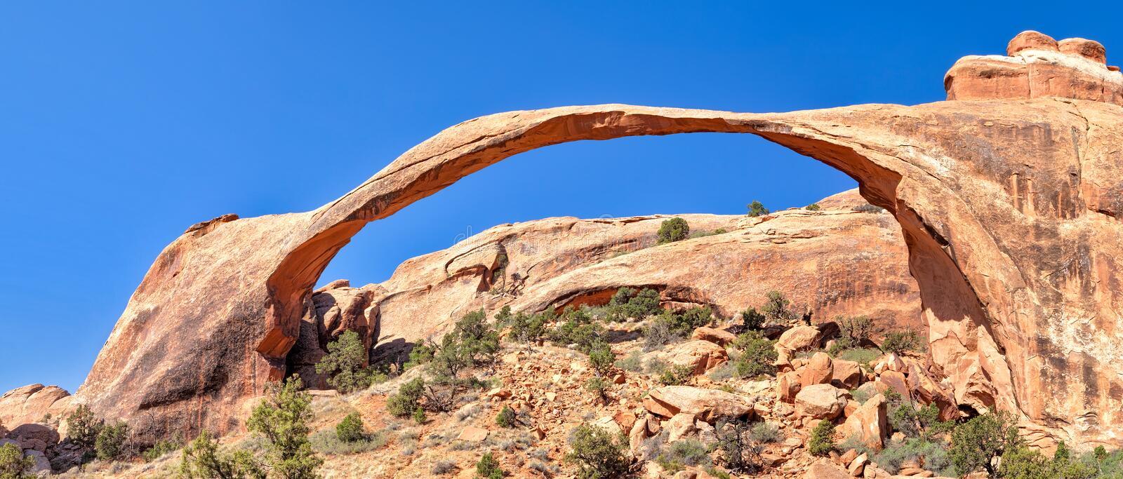 Download Landscape Arch stock image. Image of park, landscape - 25511963