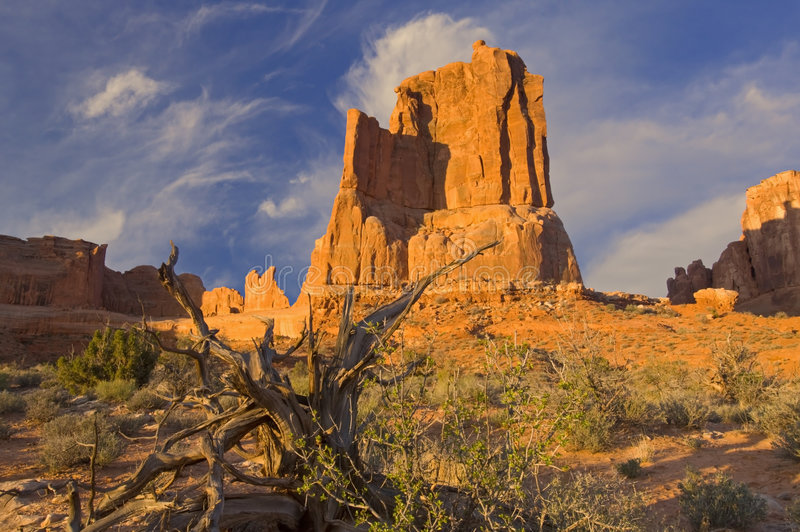 Landscape Arches National Park royalty free stock photography