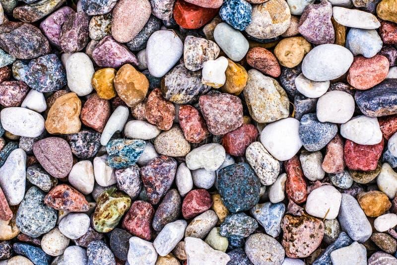 Stone pebbles background texture, landscape architecture. Landscape architecture, interior design and nature elements concept - Stone pebbles background texture stock image