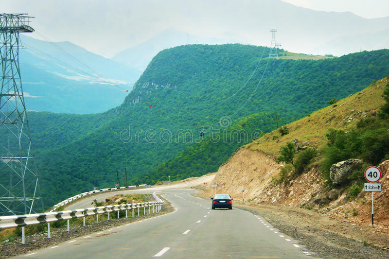 Landscape in Armenia royalty free stock images