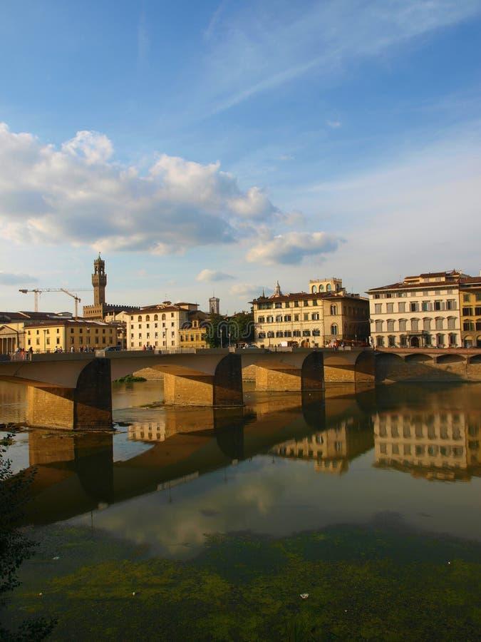 Landscape of Arno river