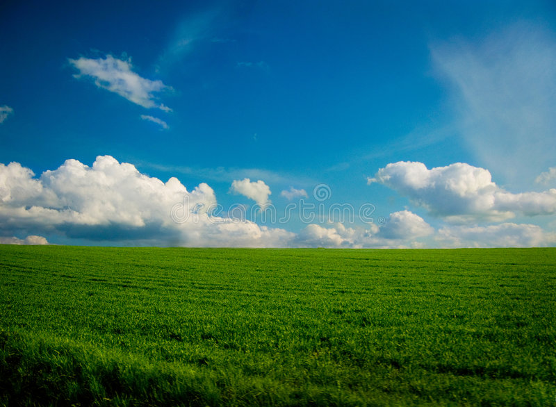 Landscape as a Wallpaper stock photography