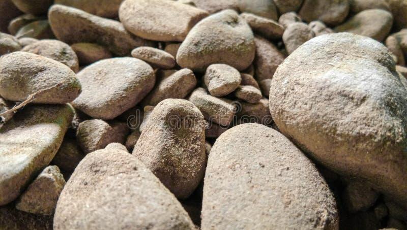 Landscape background of big stones stock photo