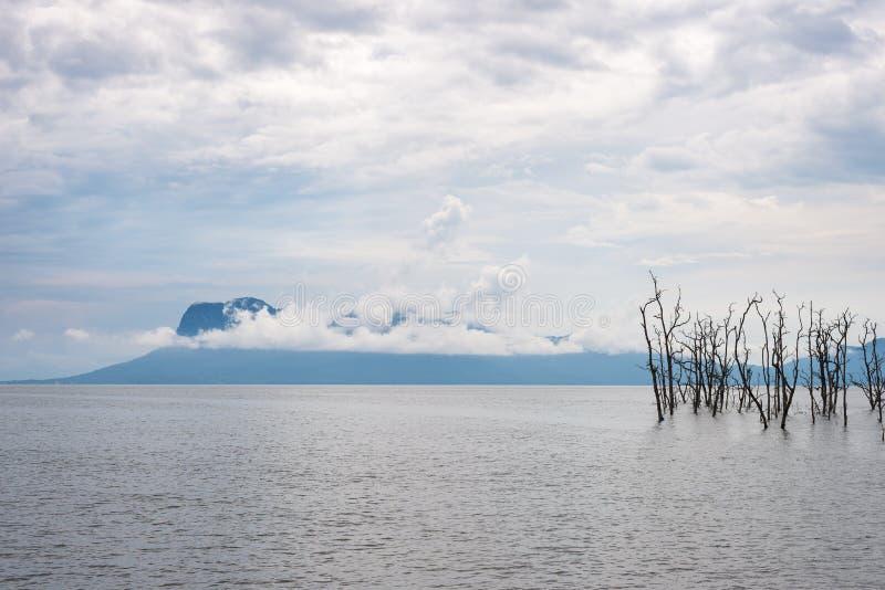 Landscape of Bako National Park, Malaysian Borneo royalty free stock image