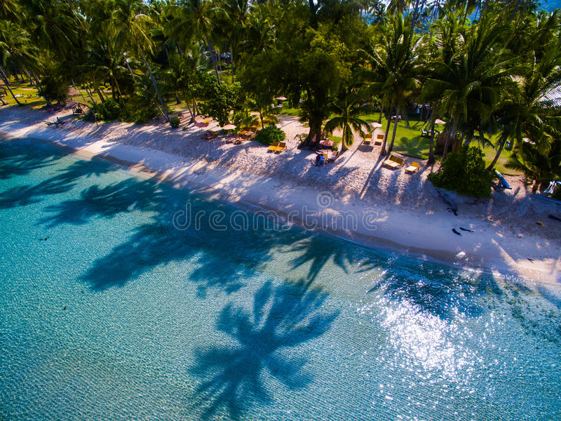 Landscape beach thailand stock photos